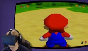 Mario 64 en Oculus Rift Nerdilandia