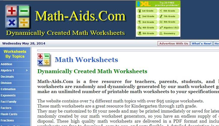895 hojas de trabajo interactivas para que los niños practiquen ...
