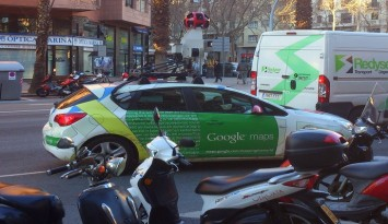 Google Street View coches