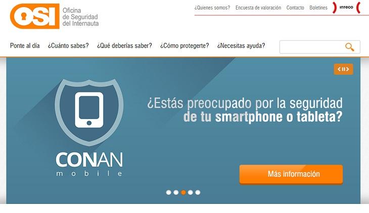 El sitio donde buscar informaci n en espa ol sobre for Oficina seguridad internauta