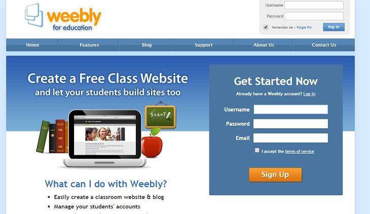 C Mo Crear Un Sitio Web Para Tu Clase Usando Weebly