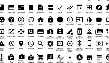 750 iconos gratis de Google