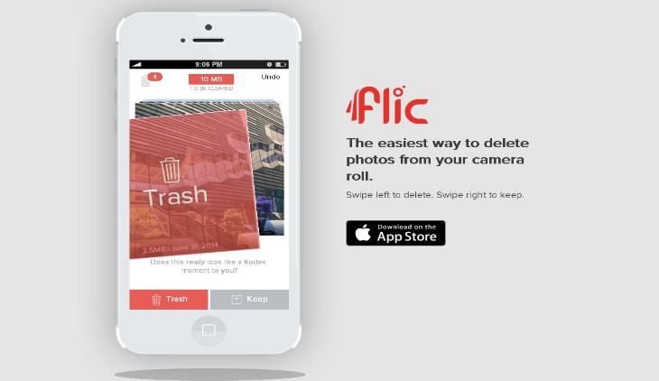 Flic, la forma más sencilla para hacer limpieza de fotos de tu iPhone