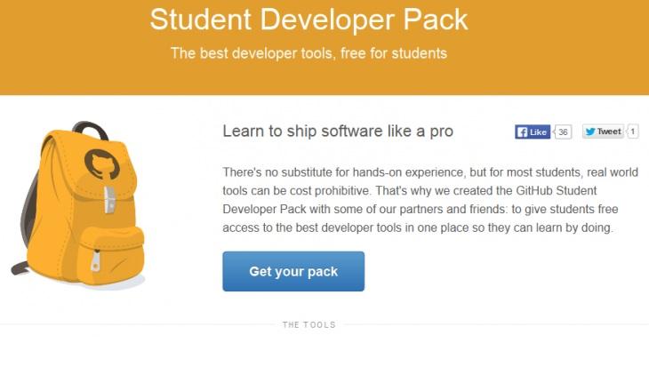 GitHub-Student-Developer-Pack