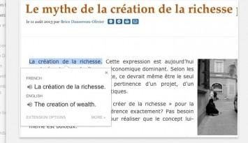 Traductor de Google   Chrome Web Store