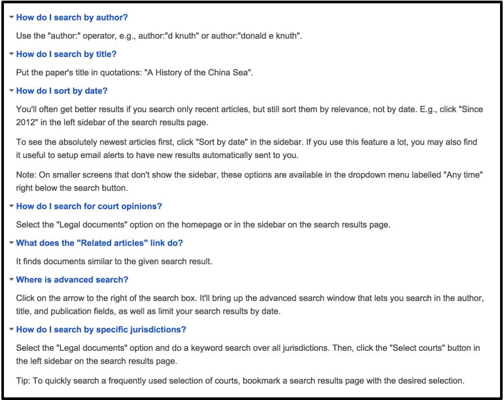 consejos para buscar en google scholar