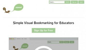 Sqworl   Simple Visual Bookmarking for Educators