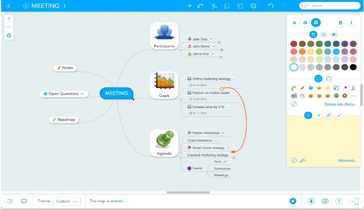 apps para crear mapas mentales en Chromebooks