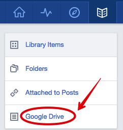 seleccione google drive