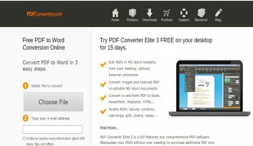 Free PDF to Word Conversion Online   PDFConverter
