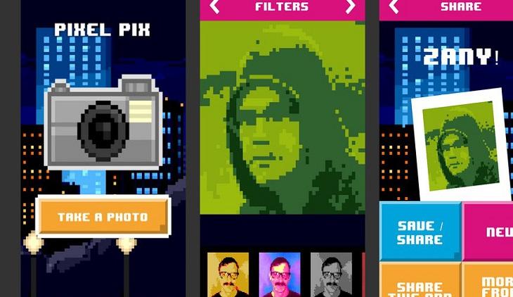 Pixel Pix Para Convertir Tus Fotos En Videojuegos De 8 Bits