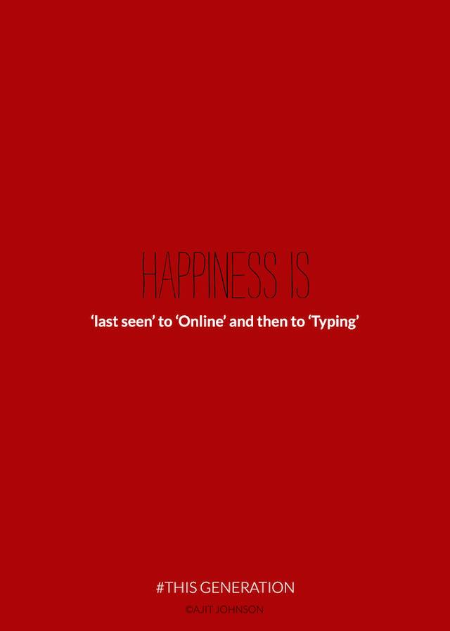 la felicidad online