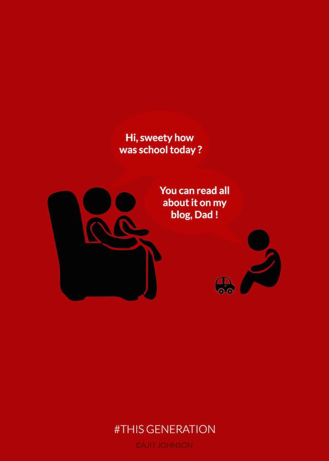 saber de tu hijo desde el blog
