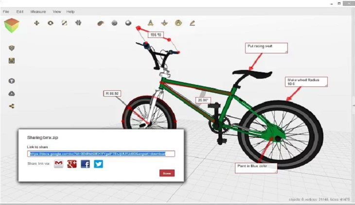 aplicaciones chome para crear modelos 3D