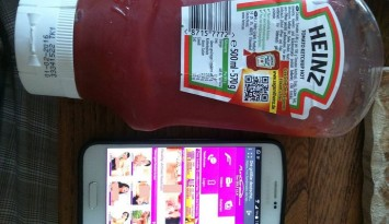 ketchup porno QR