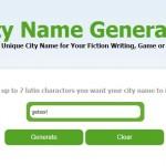 City Name Generator - Nerdilandia