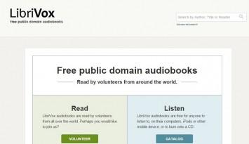 LibriVox   free public domain audiobooks