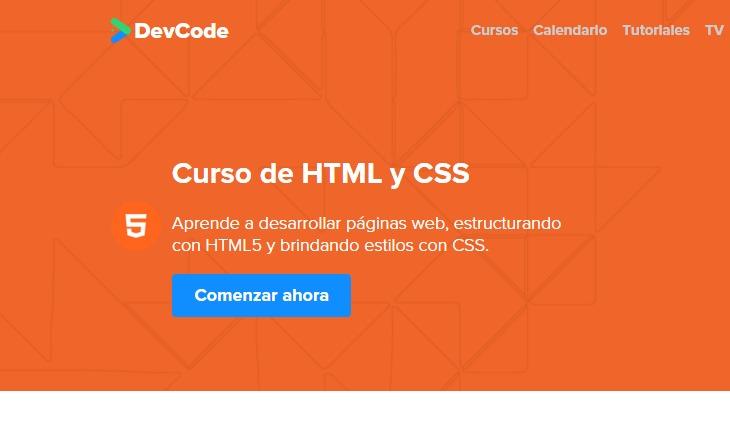 Curso gratis online y en espa ol sobre html y css con for Curso de interiorismo online