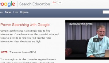 Power Searching with Google   Curso