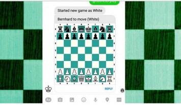 ajedrez en Facebook Messenger