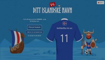 Hva er ditt islandske navn