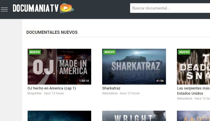 Ver documentales online gratis en la mayor web documental   DocumaniaTV