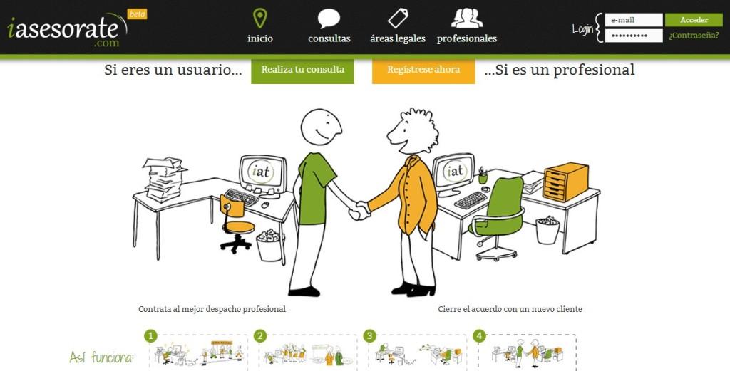 Consultas legales online a despachos profesionales iasesorate