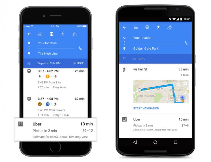 Uber-card-in-Google-Maps